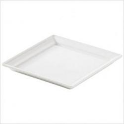 Тарелка квадр.13.2*13.2см фарфор