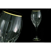 6 бокалов для вина «Пиза золото»