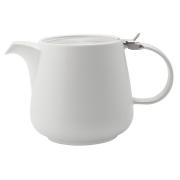 Чайник с ситечком 1.2л Оттенки (белый) в инд.упаковке