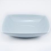 Тарелка суповая/салатник квадратная 20.5 см.