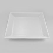 Тарелка квадратная 25см