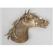 Пепельница «Лошадь» каштан 17х22 см.
