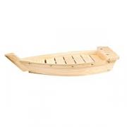 Блюдо «Корабль», дерево, H=55,L=330,B=150мм, бежев.