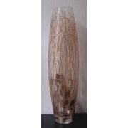F/728/566 ваза «Серебряные нити» 50см (день и ночь)