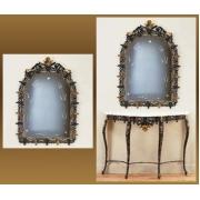 Зеркало «Король» синий 119х80 см.