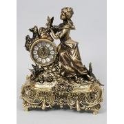 Часы «Дама с розами» комб. 35х28 см.