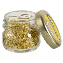 Пищевое золото (хлопья в банке 0.5гр)