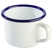 Кружка D=7, H=5см; белый, голуб.