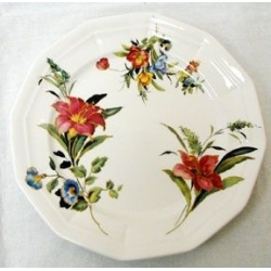 Тарелка «Букет цветов» Диаметр 23 см