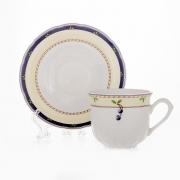 Набор для чая на 6 перс. 12 пред. низ «Бернадот Роза»