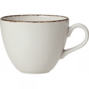 Чашка чайная «Браун дэппл» фарфор; 170мл; белый, коричнев.