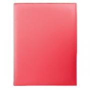 Папка-меню, кожезам., L=32,B=25см, красный