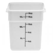 Контейнер, полиэтилен, 17.2л, H=32,L=25.6,B=31см, белый