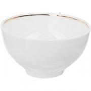 Пиала чайная D=11.8, H=5.6см; белый, золотой