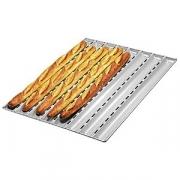 Форма для выпечки багетов, алюмин., D=55,H=25,L=450,B=135мм, металлич.