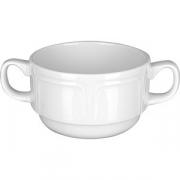 Бульон. чашка «Торино вайт» фарфор; 300мл; белый