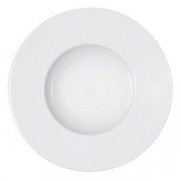 Тарелка для пасты,супа «Мэтр», фарфор, D=25см, белый