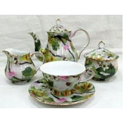 Чайный сервиз «Ветка сакуры» на 6 персон 15 предметов