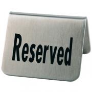 Табличка «Резерв» 5.5*5*3.5см,2 шт.