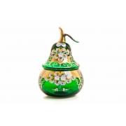 Ваза для конфет «Лепка зеленая груша»