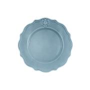 Тарелка обеденная Аральдо (голубой)