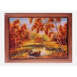 Картина «Старая лодка»
