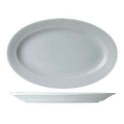 Блюдо овал «Граффити» L=35см фарфор