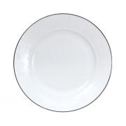 Тарелка подстановочная, 28 см, Жемчужина-платинум
