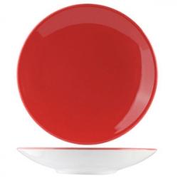Салатник «Фиренза ред» 25.5см фарфор