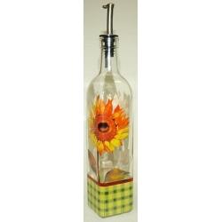 Бутылка для масла «Подсолнухи»