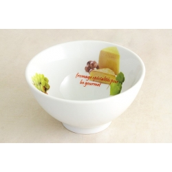 Салатник «Сыр, вино и виноград» 14 см