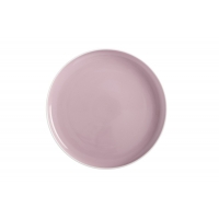 Тарелка Оттенки (розовый) без инд.упаковки