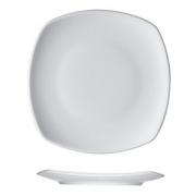 Тарелка квадратная «Опшенс», фарфор, L=15,B=15см, белый