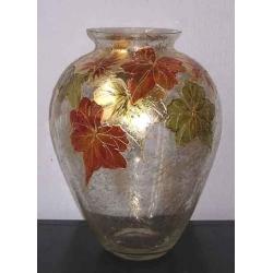 F/739/573 ваза «Кленовые листья» 35см