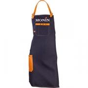 Фартук «Монин» апельсин джинс, кожа