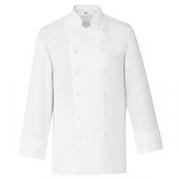 Куртка поварская 60р.б/пуклей; хлопок; белый