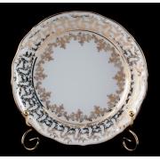 Набор тарелок «Лист белый» 19 см. 6 шт.