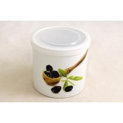 Банка для сыпучих продуктов 10 см «Оливки»