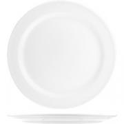 Тарелка мелкая «Атланта» D=255, H=22мм; белый