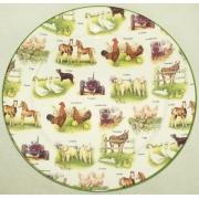 Обеденная тарелка «Ферма»