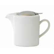 Чайник с ситечком 600мл цвет: Белый