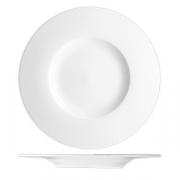 Блюдо «С-Класс»; фарфор; D=33см; белый