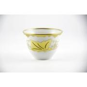 Чашка чайная Арабика 160 мл. «Кленовый лист белый»