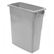 Бак для мусора, пластик, 60л, H=63,L=59,B=28см