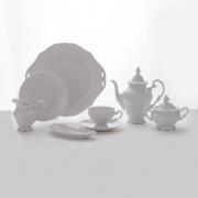 Сервиз чайный 210 мл. на 6 перс. 23 пред. «Недекорированный»