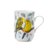 Кружка Волнистые попугаи в подарочной упаковке