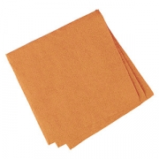 Салфетки «Папирус» 24*24см [400шт], бум. салфет., H=16,L=25,B=12.5см, оранжев.