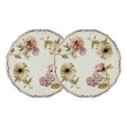Набор из 2-х десертных тарелок Сады Флоренции