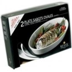 Набор из 2 овальных блюд для запекания