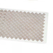 Декоративная решетка для бисквита, сталь нерж., L=60,B=40см